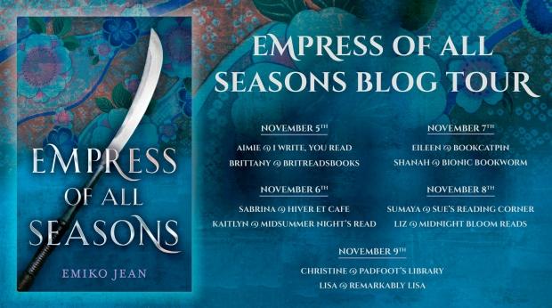Empress of All Seasons Blog Evite