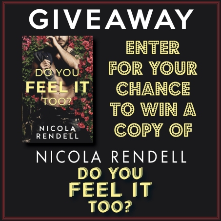 Giveaway Image - Do You Feel It Too